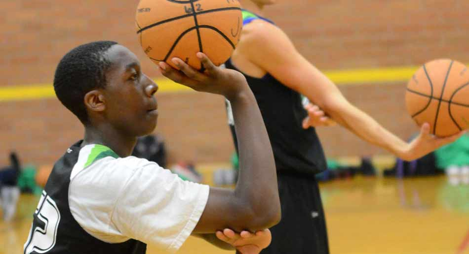 NBC Basketball Camps Offensive skills