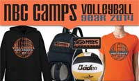 NBC Volleyball Gear 2014