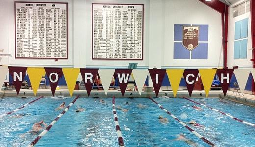 Nike Swim Camp At Norwich University