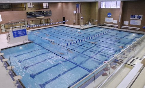 Nike swim camp at hillsdale college - University of michigan swimming pool ...