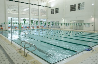 Nike swim camp at the university of north texas for San diego state university swimming pool