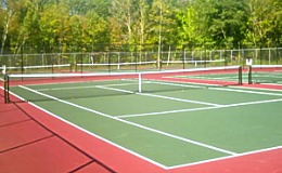 Adult Nike Tennis Camp at Curry College, MB Sports Camps