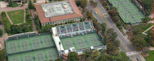 Stanford University Nike Tennis Camp, John Whitlinger sessions