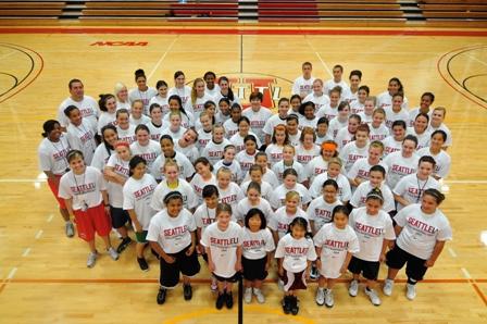 Nike Girls Basketball Camp Seattle University