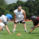 The First Three Steps of OFFENSIVE LINE PLAY