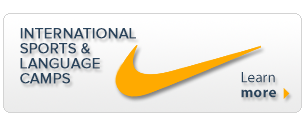 new nike international sports and language camps