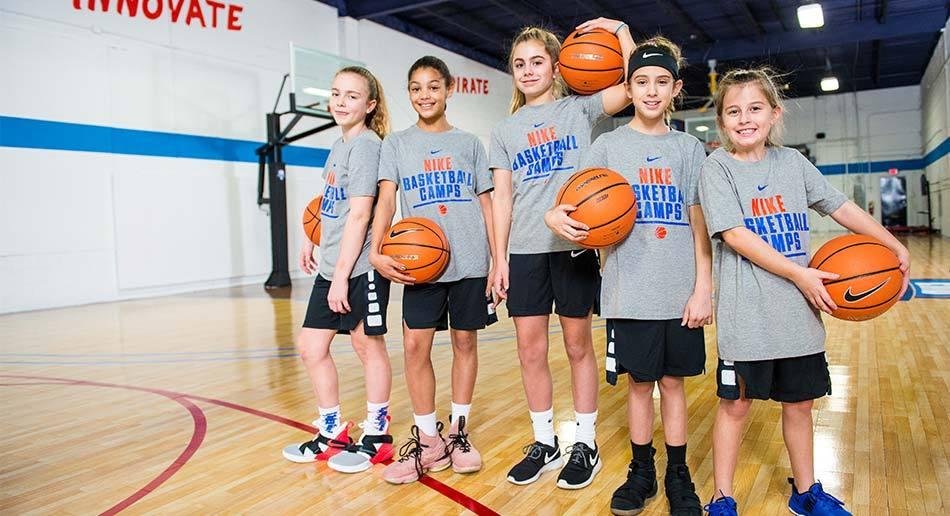 Nike Girls Basketball Camp UC Santa Cruz