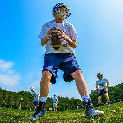 TYPE: Northeast Football Quarterback & Receiver Clinic