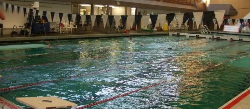 Sobrio persona que practica jogging caballo de Troya  Seattle University Swim Camp