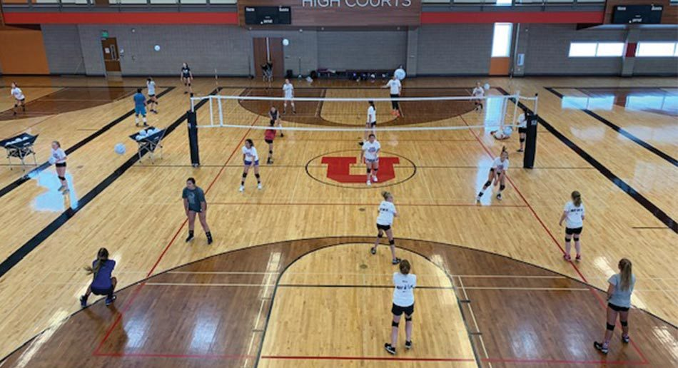 Nike Volleyball Camp At University Of Utah