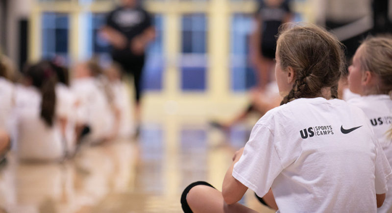 Nike Volleyball Camp At Anacortes High School