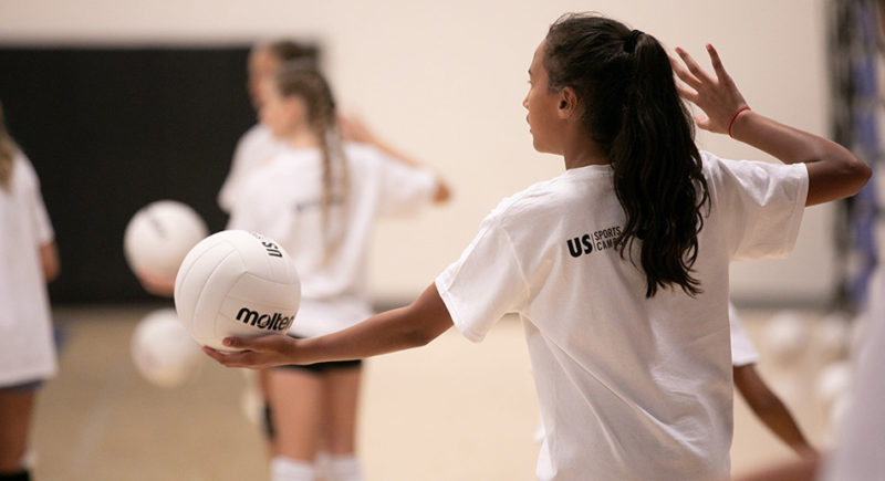 Nike Volleyball Camp At The University Of Memphis