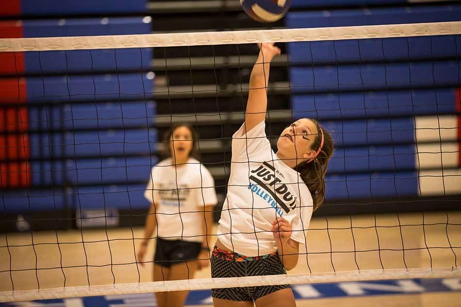 Nike Volleyball Camp At University Of Hartford