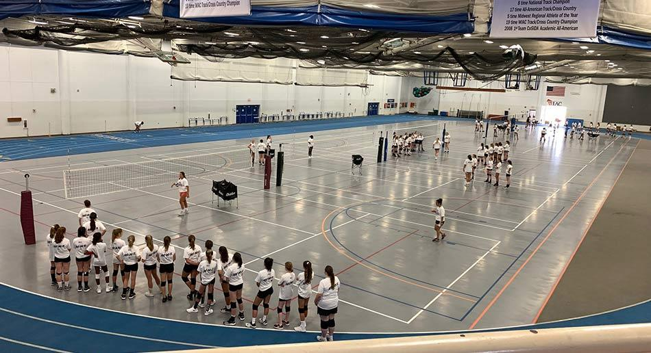 Nike Volleyball Camp At University Of Wisconsin Platteville